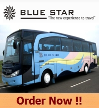 Harga Sewa Bus Blue Star